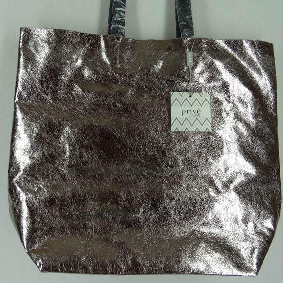 Prive  by Sorial Tote Bag Pewter 87833328131